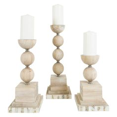 Couture Lamps Largo Candleholder Set of 3 @LaylaGrayce