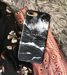 Black Marble Case for iPhone 7 & iPhone 7 Plus from Elemental Cases