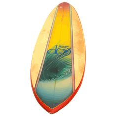 OP Airbrushed Surfboard, 1970s