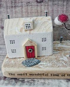 Driftwood Christmas Driftwood Art Wooden House Wood