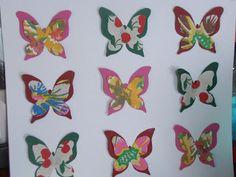 Crafty Bitch: Beautiful paper butterflies