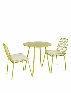 Miami Table & 2 Chairs
