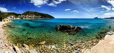 It's time to dream. Costa Blanca...little paradise. Tortuga Island in Cala Portitxol, Moraira.