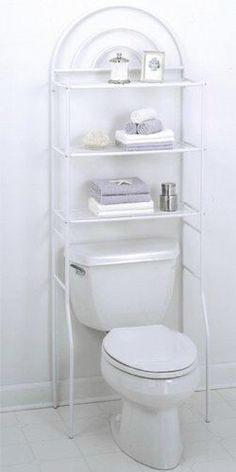 features freestanding space saver fits over all standard toilet tanks archesbathroom shelvesbathroom - Bathroom Cabinets That Fit Over The Toilet