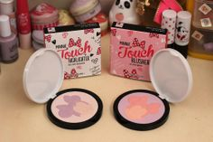 Etude House Minnie Touch Highlighter and Touch Blusher Review
