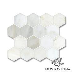 7cm Hex | New Ravenna Mosaics