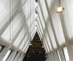Artemide illuminates the new headquarters of the Fondazione Giangiacomo Feltrinelli in Milan, designed by Jacques Herzog & Pierre de Meuron. More info on our #ArtemideBlog ►http://bit.ly/2gCmdBx Photo © Michele Nastasi