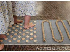 Senzorický koberec pro barefoot