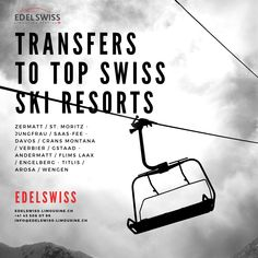 Our fleet of luxury limousines, spanning from sedans and minivans to minibuses and coaches, is equipped to transport you and your luggage safely and comfortably to your winter vacation destination🎿🏔🇨🇭 Swiss Ski, Saas Fee, Andermatt, Engelberg, Cruise Port, Limousin, Sedans, Coaches, Vacation Destinations