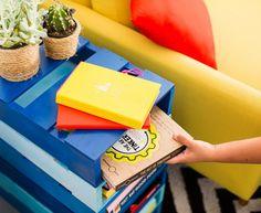 Mueble #librero con #palets