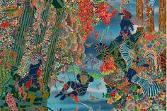 Raqib Shaw - Alchetron, The Free Social Encyclopedia Raqib Shaw, Manchester Art, Examples Of Art, Cultural Diversity, Illuminated Manuscript, Contemporary Paintings, Art Blog, Painting & Drawing, Art History