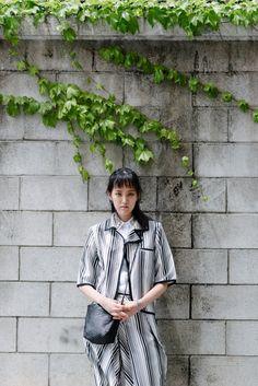 Model : Shin Hae Nam (YG Kplus) wearing BOBABABE