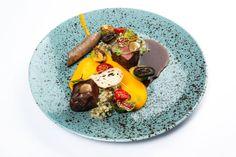 Z aktuálního menu v La Rotonde restaurant v Alcron Hotel Prague Restaurant Guide, Prague, Tacos, Menu, Mexican, Ethnic Recipes, Food, Fine Dining, Menu Board Design