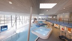 Image 20 of 31 from gallery of The Thermal Baths in Bad Ems / 4a Architekten. Photograph by David Matthiessen
