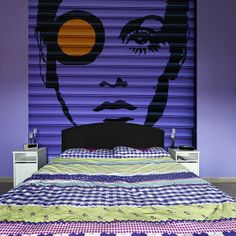 FASHION: Purple Twiggy Lawson wallpaper by Big-trix.pl | #twiggy #purple #violet #wallpaper