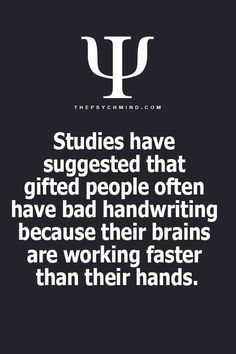 Ha! My hand are always behind my brain. If I try to write, I find writing so slow that I even lose track of what I want to say. My dyslexia likely is another contributory factor! My brain is faster than I can talk too. I thought everyone is like this? {Schnelle Hilfe bei LRS|Schnelle Hilfe bei Legasthenie|Hilfe bei Legasthenie|Gezieltes Üben bei Legasthenie|Online Übungen bei LRS und Legasthenie} im LRS-Club auf www.lrs-club.de