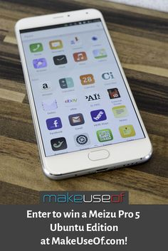 Enter to win a Meizu Pro 5 Ubuntu Edition from MakeUseOf.com!