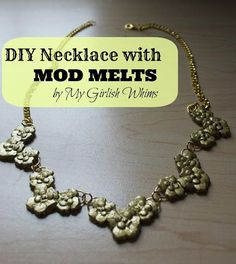 DIY Necklace with Mod Melts