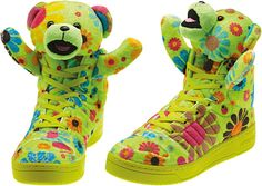 "check out 61d83 5b1ac adidas Originals x Jeremy Scott JS Bear ""Flower Power"""