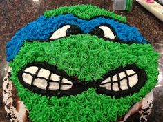 Ninja Turtle Birthday Cake | Foodieforone