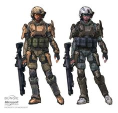 Robot concept art military future soldier 55 Ideas for 2019 Robot Concept Art, Armor Concept, Odst Halo, Gundam, Halo Game, Halo 3, Halo Armor, Halo Series, Halo Reach