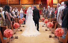 Wedding Church Aisle Decor Flower Ball 53 New Ideas Wedding Ceremony Ideas, Wedding Aisles, Church Wedding Ceremony, Chapel Wedding, Party Wedding, Wedding Chapels, Church Weddings, Diy Wedding, Reception