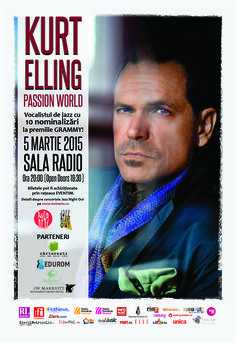 Kurt Elling-Passion World in concert la Sala Radio!