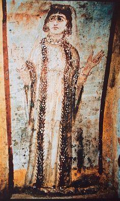 Catacomba dei Giordani, Roma. Gli affreschi dei IV secolo African Art, History, Painting, Christianity, Primitive, Rome, Historia, Painting Art, Paintings