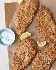 Kosher Recipes // Matzo-Crusted Chicken Cutlets Recipe