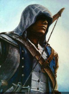 Connor Kenway by narufag.deviantart.com #AssassinsCreed