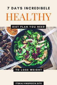 7 Days Healthy Diet Plan You Need Do To Lose Weight | Find how to prepare your incredible meal plan for a 7-day healthy diet plan to target weight loss goals | Easy and natural way for losing weight #healthydietplan #dietrecipes #ketorecipes #dietmealplan