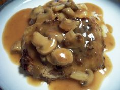 The Life & Loves of Grumpy's Honeybunch: Country Fried Steak with Mushroom Gravy