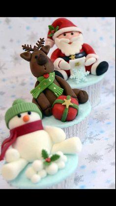 Yummy holiday cupcakes