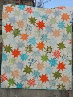 sparkle punch quilt by boowasourneighbor, via Flickr