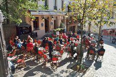 Rue Ravignan,  Montmartre