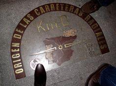 Footnote: Kilometro Cero, Origen de las Carretas  Radiales Urban Legends, Royal House, Old Things, Around The Worlds, Travel, Wheelbarrow, Voyage, Trips, Traveling