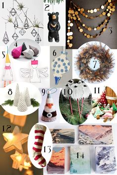 Handmade Christmas Decorations | Gallant and Jones