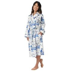 02730cd364 Garden Geisha Flannel Robe from The Cat s Pajamas.  flannel  sleepwear   pajamas