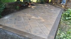 Image result for stamped concrete pathways
