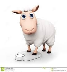 Image result for cute sheep cartoon character 3d