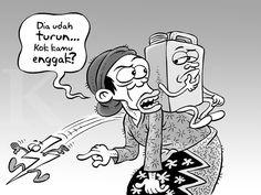 Kartun Benny, Kontan - Oktober 2015: Menunggu BBM Turun
