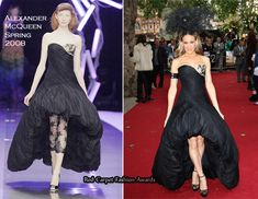"""Sex And The City 2″ London Premiere – Sarah Jessica Parker In Alexander McQueen"