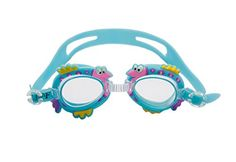 Lovely Waterproof Antifog Kids Cartoon Swimming Goggles Adjustable Sky Blue -- Find out more about the great product at the image link.Note:It is affiliate link to Amazon.