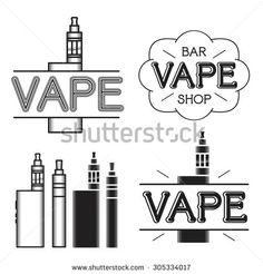vape store logos - Поиск в Google
