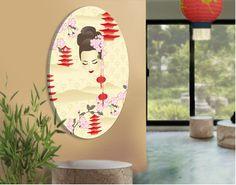 Wall Art, Home and Decor Online Store Design Textile, Web Design, Canvas Designs, Geisha, Graphic, Illustration, Kids Rugs, Wall Art, Wallpaper