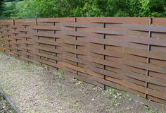 Image result for composite siding fence woven
