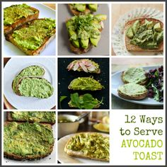 Avocado toast round-up.  i've been eating a bagel w/ avocado for brekkie for years, but i may need to try something new.