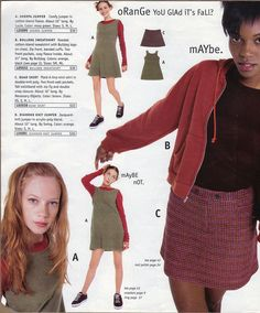 Delia*s Fall 96 Catalog: A vfile by Fan VFILES: Connect, discover, collaborate, and be part of what's next. 90s Teen Fashion, Early 2000s Fashion, Teen Style, My Style, Indie Outfits, Fashion Outfits, Retro Outfits, Grunge Style, Fashion Catalogue