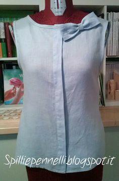 Spilli e Pennelli: Refashion della camicia di lino