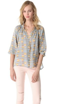 Tucker Classic Blouse from shopbop